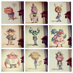 Monster Kids 1 by OtisFrampton