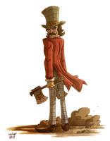 Bill The Butcher by OtisFrampton