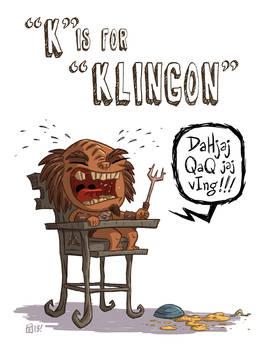 K Is For Klingon