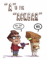 A Is For Ackbar by OtisFrampton