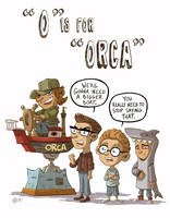 O Is For Orca by OtisFrampton