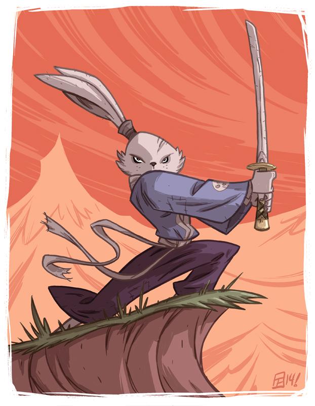 Usagi Yojimbo by OtisFrampton
