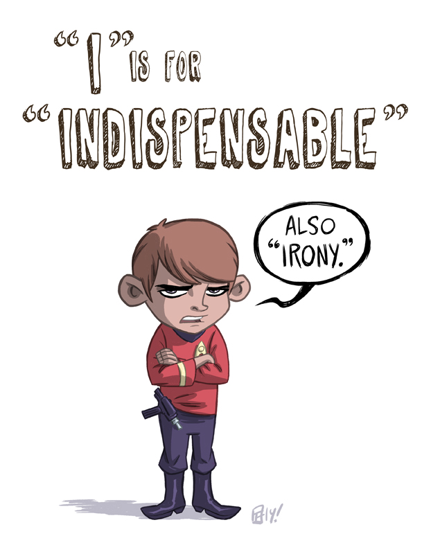 I Is For Indispensable by OtisFrampton