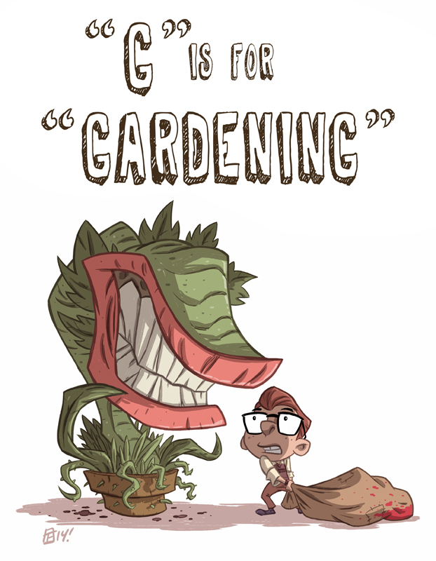 G Is For Gardening by OtisFrampton
