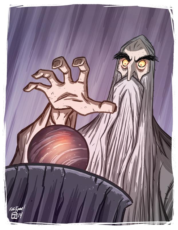 Saruman by OtisFrampton