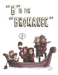 B Is For Bromance by OtisFrampton