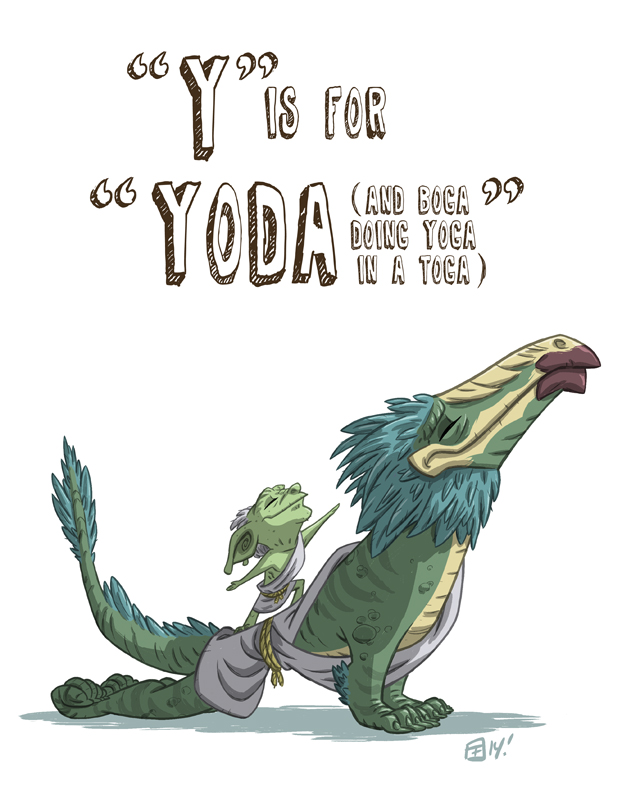 Y Is For Yoda by OtisFrampton