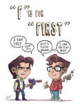 F Is For First