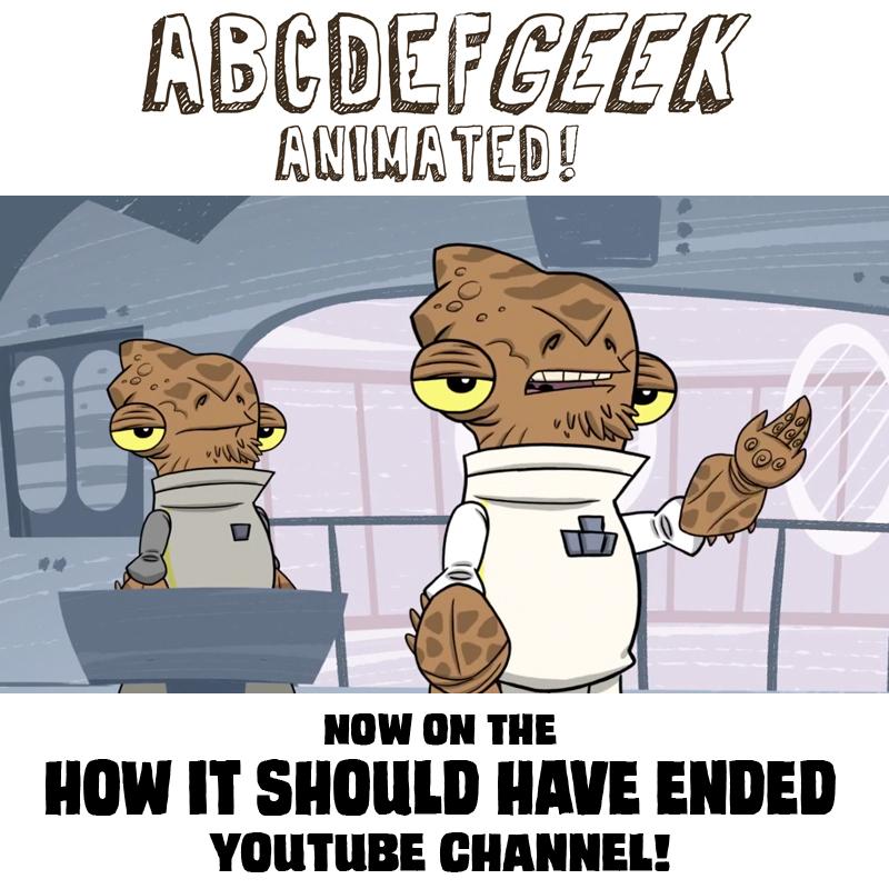 ABCDEFGeek A Is For Ackbar by OtisFrampton