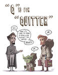 Q Is For Quitter