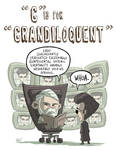 G Is For Grandiloquent