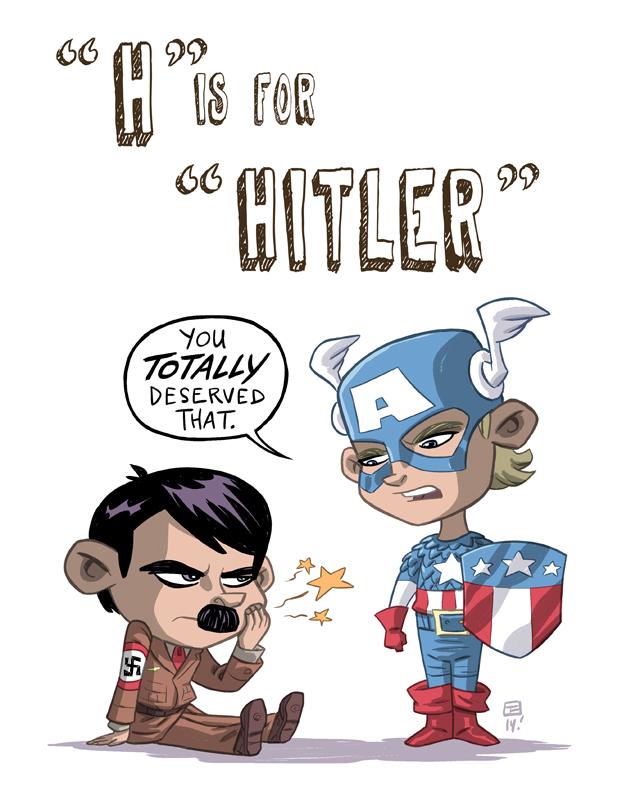 H Is For Hitler by OtisFrampton