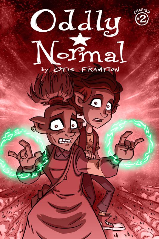Oddly Normal Issue2 Cover by OtisFrampton