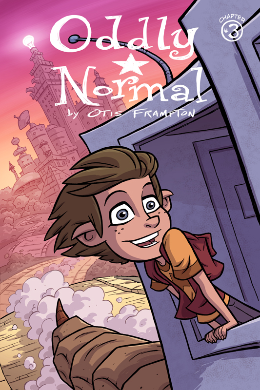 Oddly Normal Issue 3 Cover