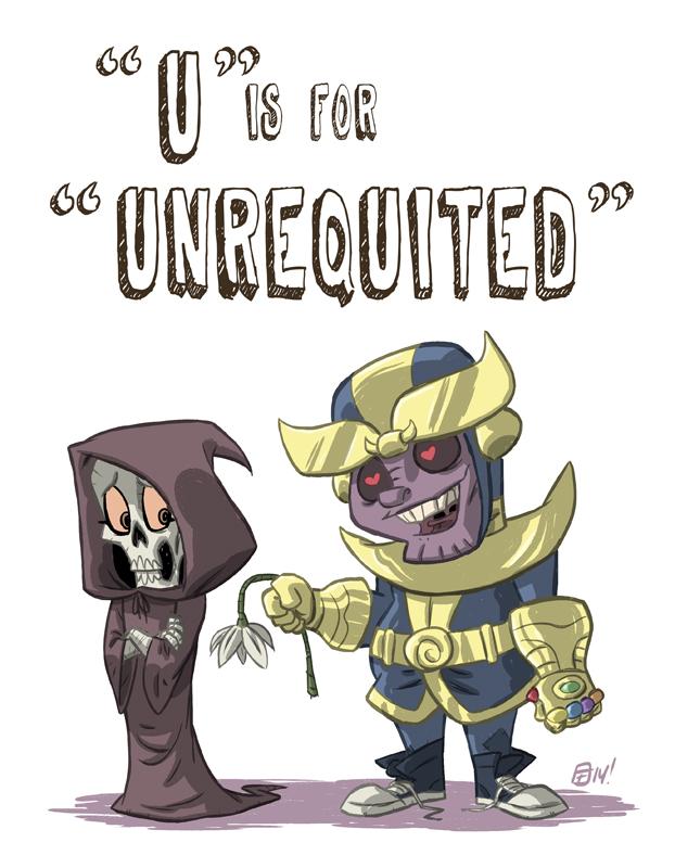 U Is For Unrequited by OtisFrampton
