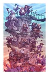 The Quest of Erebor by OtisFrampton