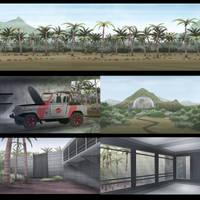 Jurassic World HISHE Backgrounds