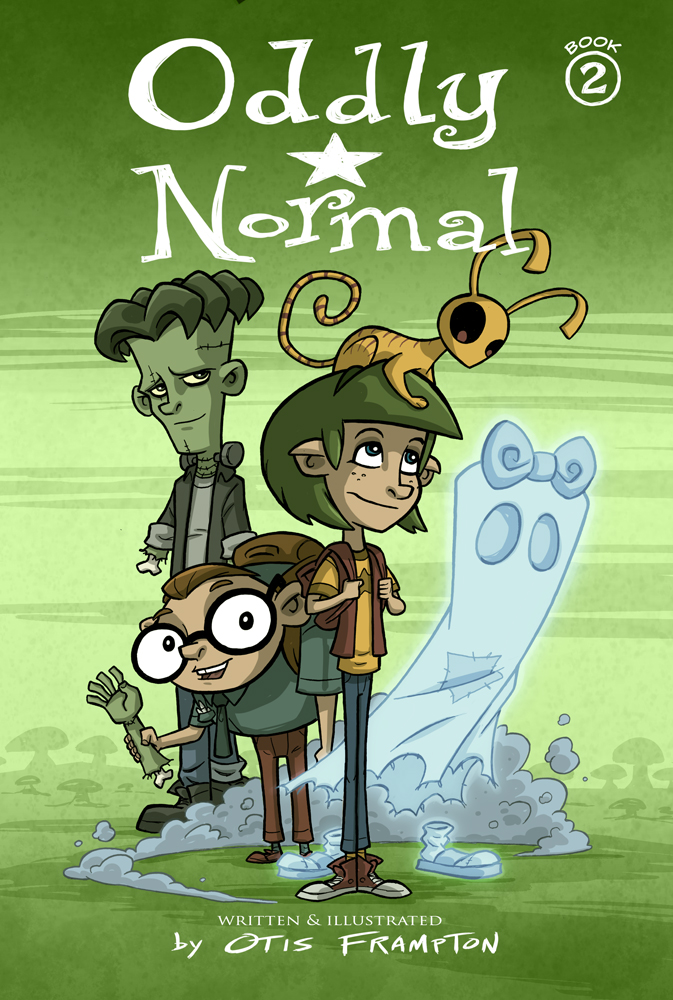 Oddly Normal Book 2 by OtisFrampton
