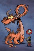 Scaredy Dragon by OtisFrampton