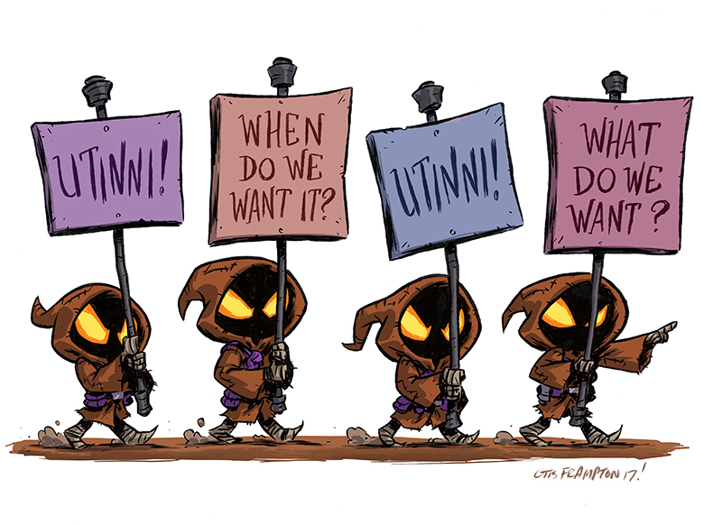 Jawas For And/Or Against Utinni by OtisFrampton