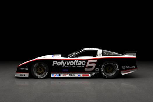 1988 IMSA Corvette - studio