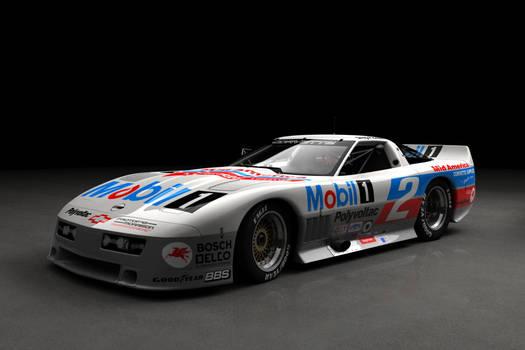 1987 IMSA Corvette - studio