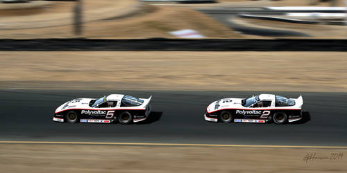 1988 Protofab Covettes at Sears Point