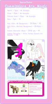 Pony Point Commissions