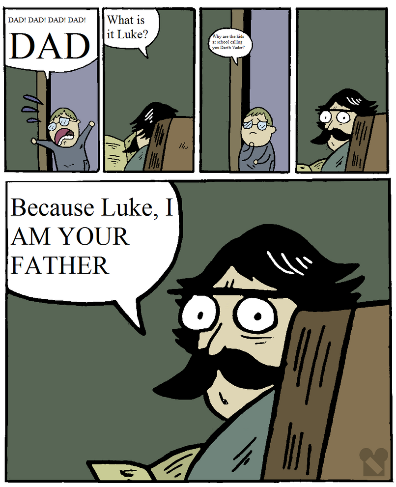 Stare Dad Vader by Zandar13