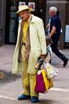 Yellow Man - Street Photography
