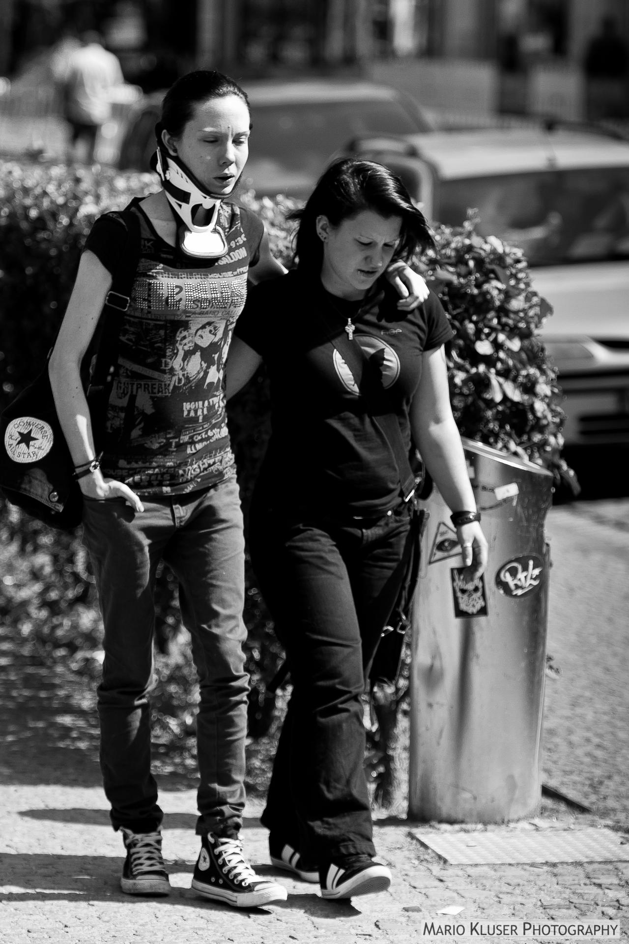 Friends Indeed - Street Photography