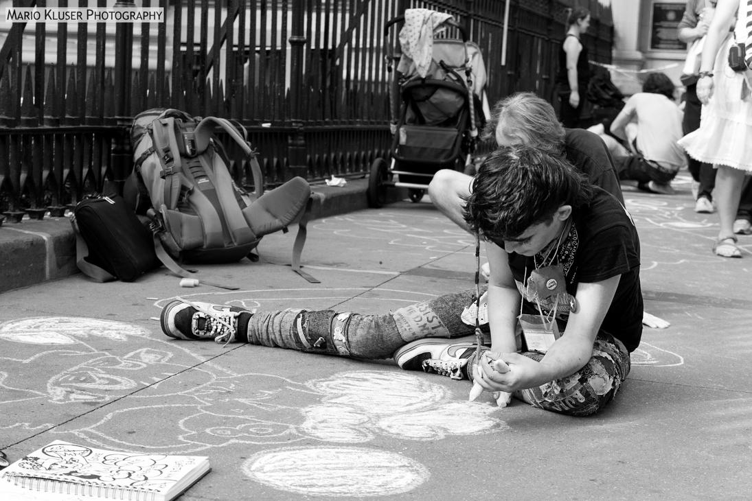 Occupy Wall Street (6) by mariokluser