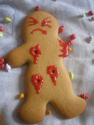 ginger bread dead by AlTerranDrac