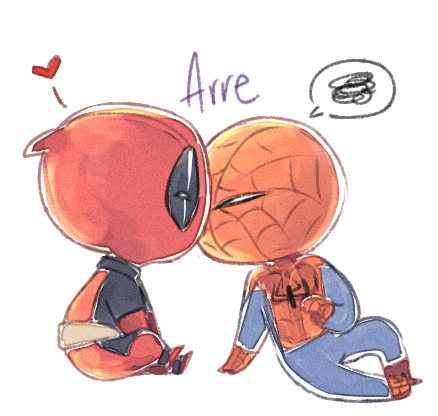 Spideypool 11 by Arr3