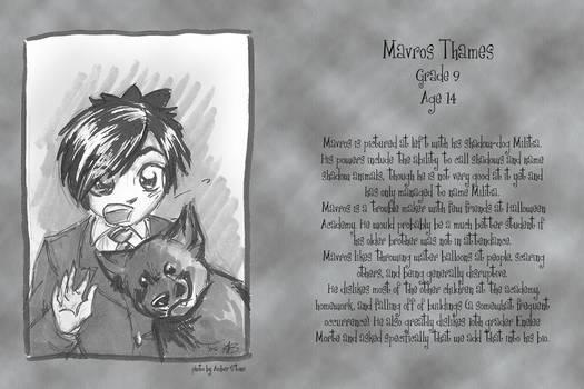 HA Yearbook Mavros
