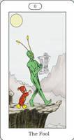 DC Tarot Card- 0 The Fool
