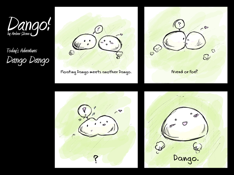 Dango Redesign 4 by AmberStoneArt