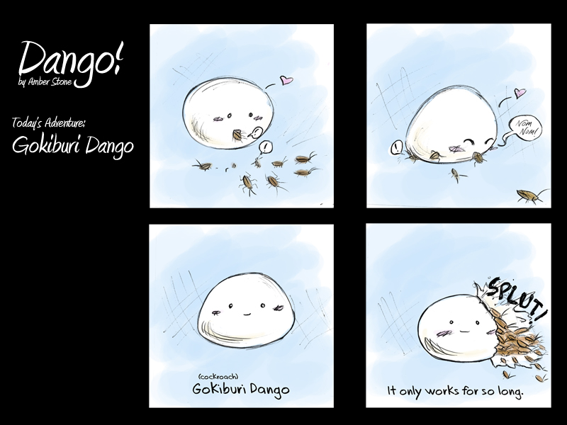 Dango Redesign 8 by AmberStoneArt