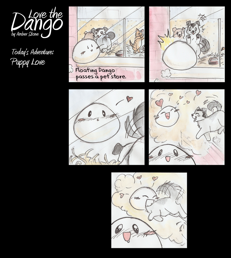 Dango 28 by AmberStoneArt