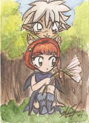 Chloe and Thalo card