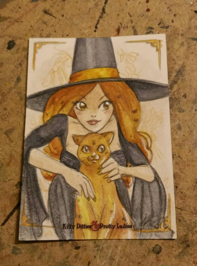 Witchery-do! Amber by AmberStoneArt