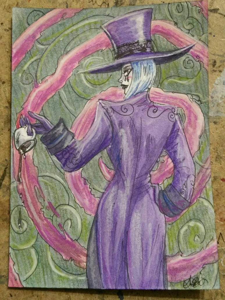 Alice in Wonderland Max Hatter by AmberStoneArt