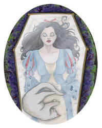 Snow White by AmberStoneArt