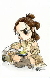 Rey by AmberStoneArt