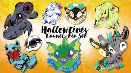 Hallowtines Pins Kickstarter