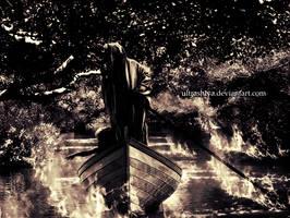 The Ferryman by the Styx. by UltraShiva