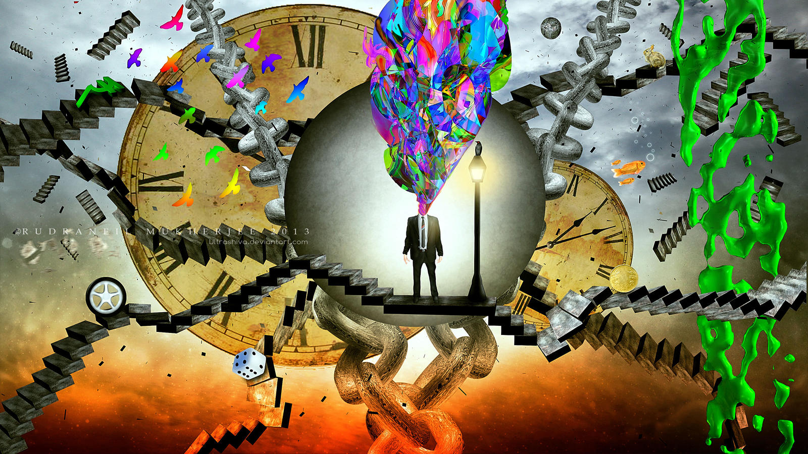 Maze of Thoughts by UltraShiva on DeviantArt