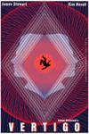Vertigo Film Poster by UltraShiva