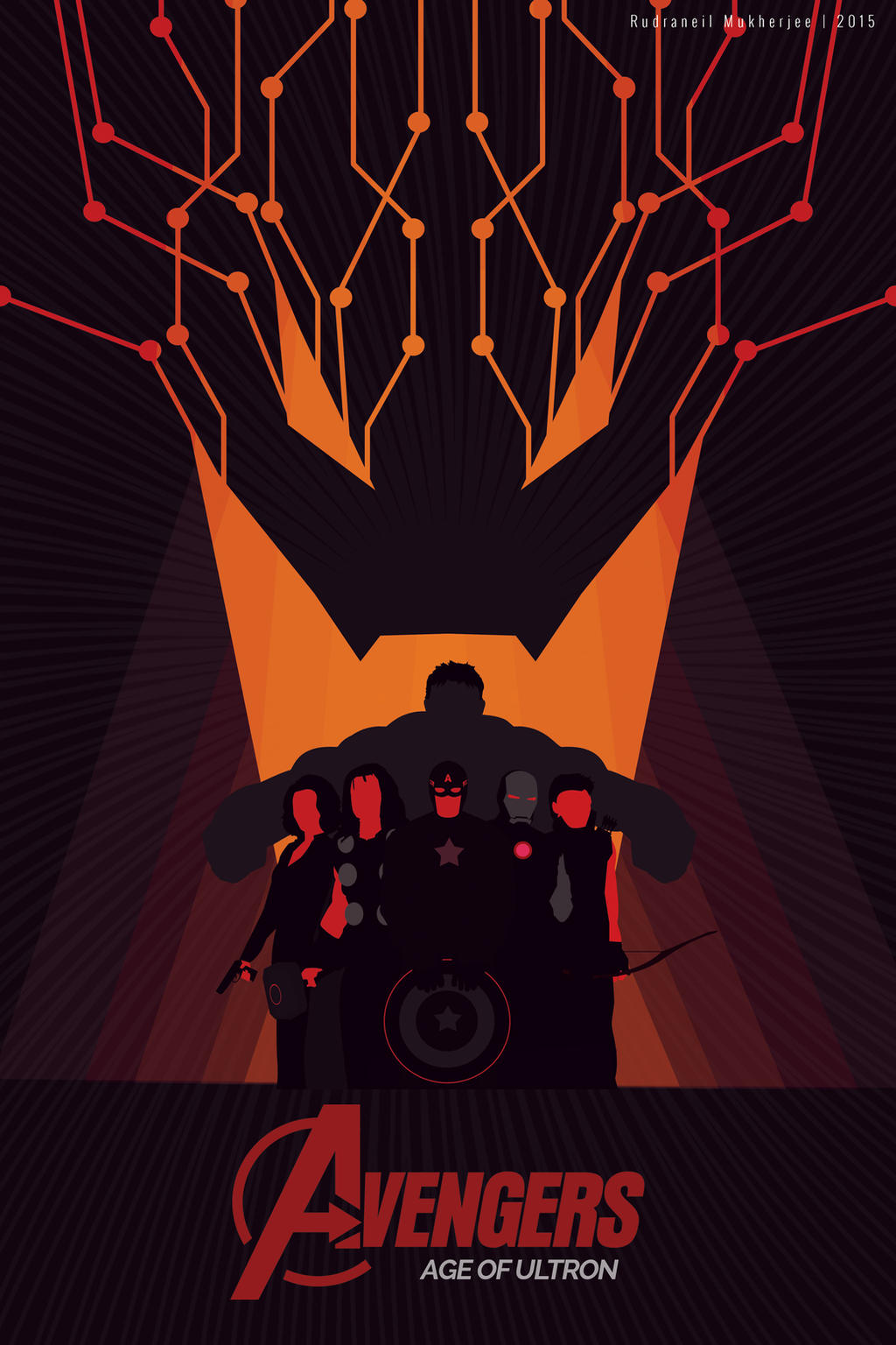 Avengers Age Of Ultron By Iloegbunam On Deviantart: Avengers: Age Of Ultron Poster By UltraShiva On DeviantArt