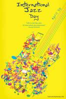 International Jazz Day Poster 2016 by UltraShiva